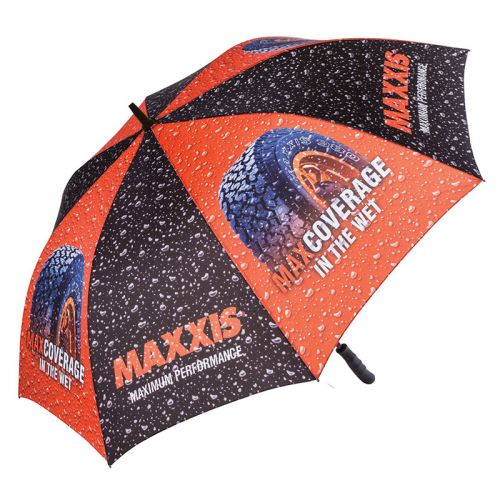 62 Inch Arc Promotional Full Color Golf Umbrellas