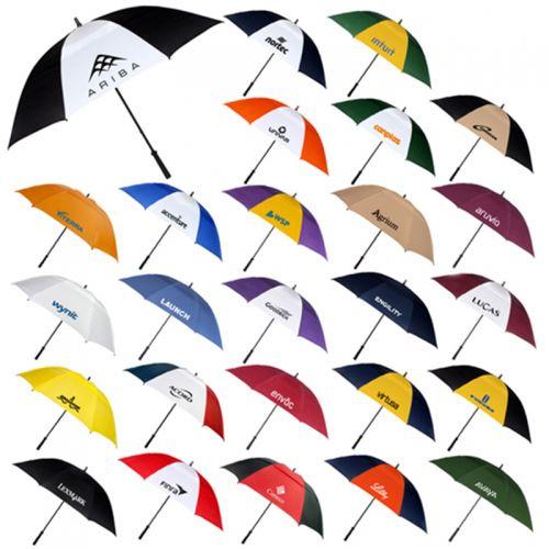 62 Inch Arc Customized Logo Umbrellas