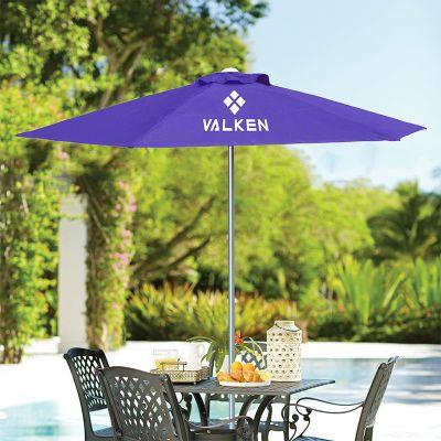 7 Ft Custom Printed New Steel Market Patio Umbrellas