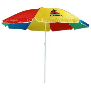 6 Ft Arc Customized Economy Beach Umbrella