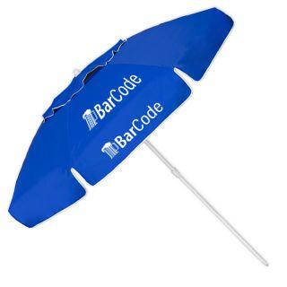 78 Inch Arc Customized Vented Trio Patio/P.O.P./Beach Umbrellas