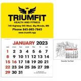 Custom Printed Stick Up Calendars 2-Color Grid