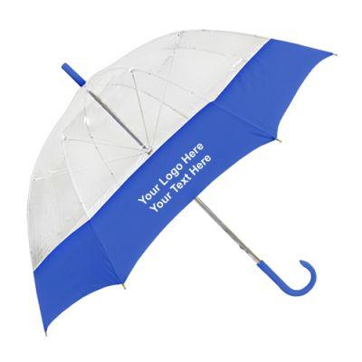 Custom Printed 54 Inch Bell-shape Wedding Umbrellas