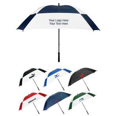 62 Inch Arc Custom Printed Logo Umbrellas