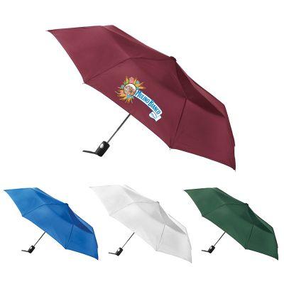 42 Inch Arc Custom Four Seasons Auto Open Folding Umbrellas