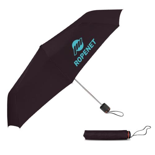 43 Inch Arc Promotional Super-Mini Telescopic Folding Umbrellas