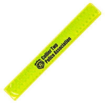 Custom Printed Reflective Slap Safety Wristbands