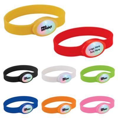 Promotional Multi-Color Flashing LED Bracelets