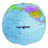 13 Inch Customized Globe Shaped Beach Balls