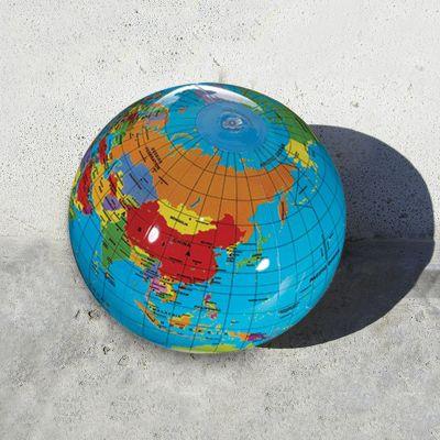 14 Inch Customized Global Beach Balls