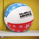 16 Inch Promotional USA Beach Balls