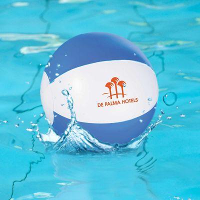 Custom Imprinted Whirl Mini Beach Balls