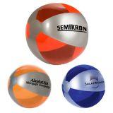 Custom Printed Luster Tone Beach Balls