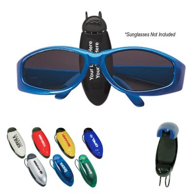 Custom Eyeglass Sunglasses Holder Clip