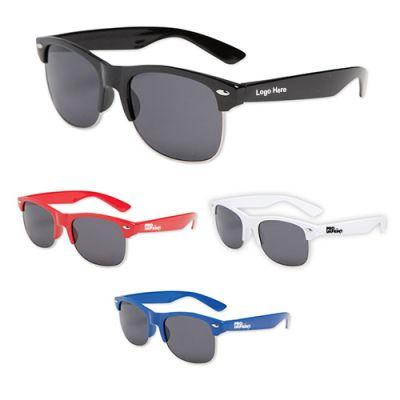 Custom Imprinted Half Frame Oahu Sunglasses