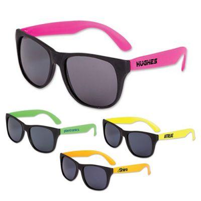 Custom Imprinted Neon Sunglasses Assortment