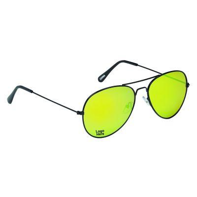 31fd02def9 Over  500. Custom Printed Black Frame Navigator Sunglasses