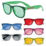 Custom Printed Checkered Sunglasses