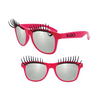 Custom Printed Eyelash Sunglasses
