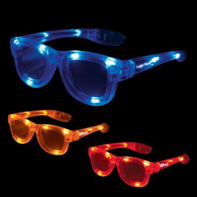 Custom Printed Light Up Kids Iconic Sunglasses