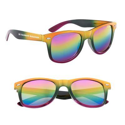 Customized Metallic Rainbow Malibu Sunglasses