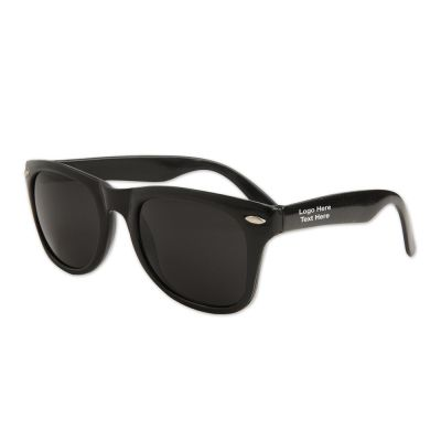 Personalized Blues Brothers Black Sunglasses