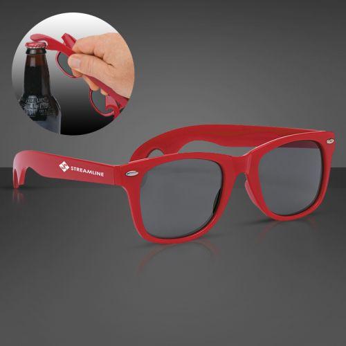 a5e88121c36 Promotional Bottle Opener Malibu Sunglasses - Sunglasses