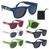 Promotional Logo Folding Malibu Sunglasses