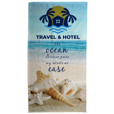 30x60 Inch Custom Imprinted Beach Towels
