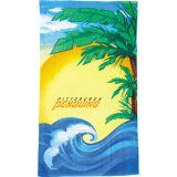 Personalized Beach Scene Beach Towel