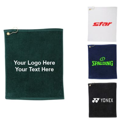 Promotional Hemmed Lightweight Golf Towels