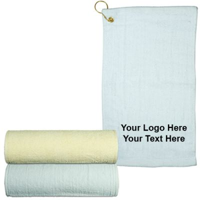 Custom Imprinted Hand Towel with Grommet