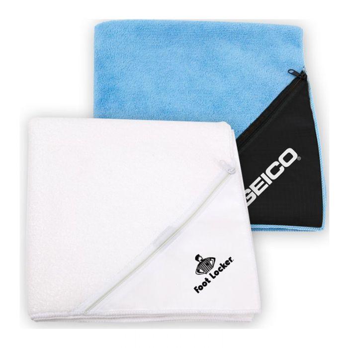 Promotional Microfiber Fitness Towels Imprinted  Blank  Sample