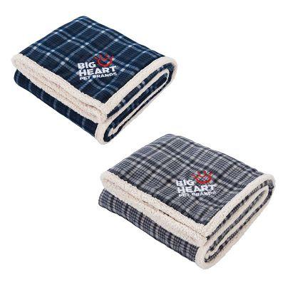 Field & Co.® Plaid Sherpa Blankets