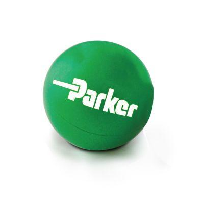 Custom Logo Imprinted Rubber Balls - 3 Colors