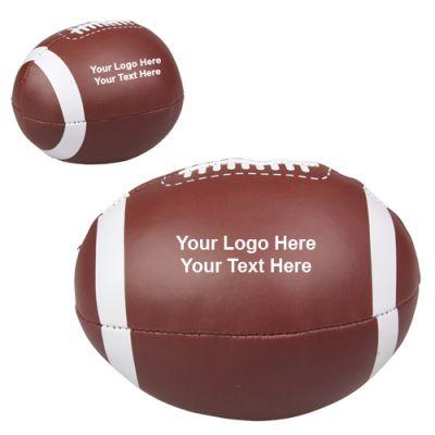 Custom Printed Football Pillow Balls