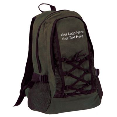 Custom Imprinted Washed Cotton Backpacks