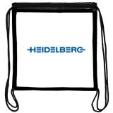 Custom Imprinted Clear Drawstring Backpacks