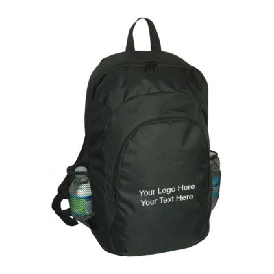 Custom Printed Large Padded Back Casual Backpacks