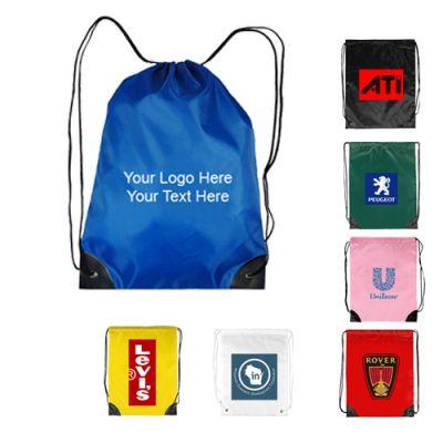 Personalized Economy Drawstring Backpacks