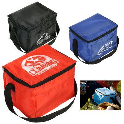 Custom Snow Roller 6-pack Cooler Bags