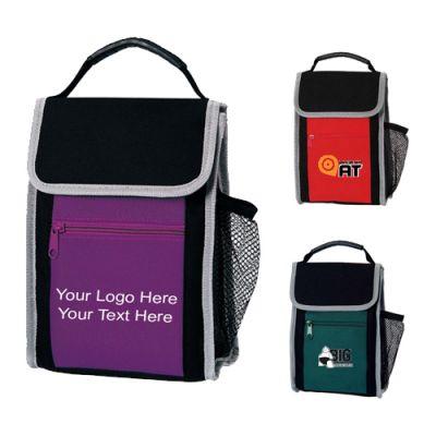 Custom Contrast Color Lunch Cooler Sacks