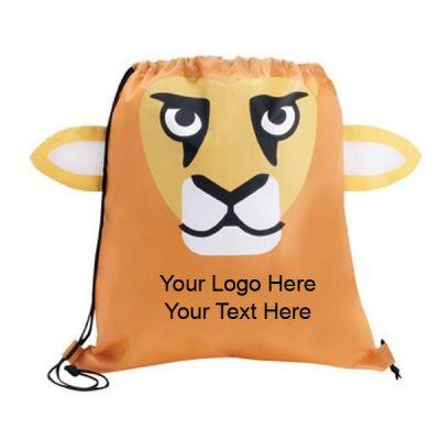 Custom Imprinted Lion Shaped Sport Packs
