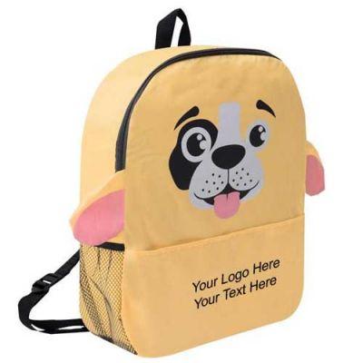 Custom Imprinted Puppy Shaped Backpacks