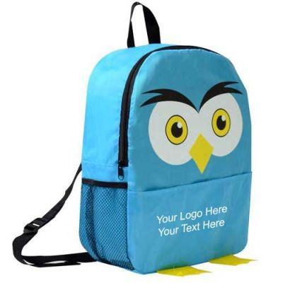 Custom Printed Owl Shaped Backpacks