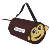 Personalized Monkey Shaped Barrel Bags