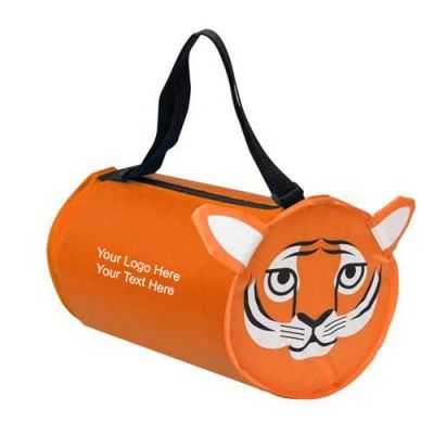 Promotional Tiger Shaped Barrel Bags