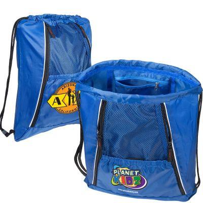 Personalized Multi Pocket String A Sling Backpacks