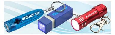 Custom Keychain Flashlights