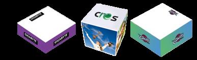 Custom Memo Cubes